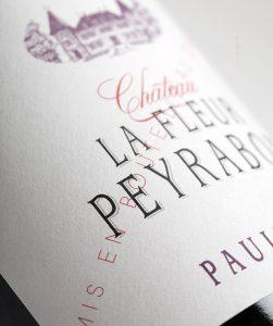 Château La Fleur Peyrabon étiquette
