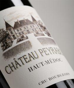 Etiquette Château Peyrabon