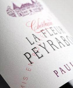Etiquette du Château La Fleur Peyrabon