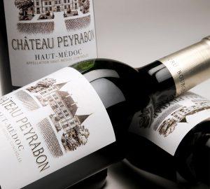 Visuel d'ambiance bouteille Château Peyrabon