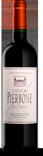Packshot bouteille Château Pierbone