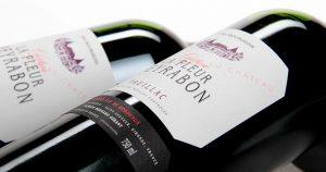 Visuel d'ambiance bouteille Château Fleur Peyrabon